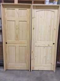 Knotty Pine Interior Doors Pine Interior Doors Prehung 6 Panel And Knotty Pine Building