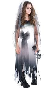 Dead Prom Queen Halloween Costume Girls Prom Corpse Costume Party