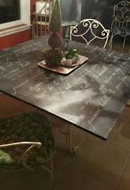 paint glass table top painted board for glass top dining table hometalk