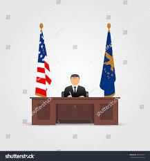 president oval office white house stock vector 366754517