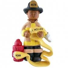 firefighter ornaments gifts ornaments for you