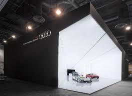Interior Design Show Las Vegas Cone Of Light U201d U2013 Audi Ag U0027s Visionary Exhibition Stand Concept At