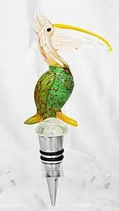 hand blown glass ls new hand blown glass turtle wine stopper by ls arts 13 99 4 tall
