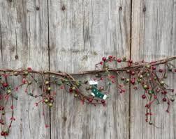 rustic garland etsy