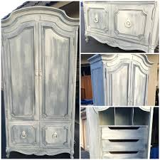 Shabby Chic Jewelry Armoire by Jewelry Wall Armoire Vintage Henredon French Country Louis Xv