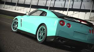 tiffany blue mustang tiffany blue nissan r35 gtr fully built forza 4 beauty shots youtube