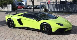 yellow lamborghini aventador for sale lamborghini aventador and speedboat on sale on ebay daily mail
