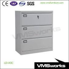 Horizontal Storage Cabinet China Office Furniture Filing Cabinet Black Handle 2 3 4 Drawer