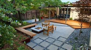 Backyard Ideas Without Grass Modern Backyard Ideas With Pavers Design Idea And Decorations