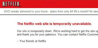 site unavailable netflix down website unavailable august 10th 11th