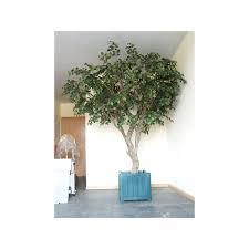 large artificial trees handmade in the uk bright green