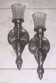 home interiors sconces home interior metal flower sconces candle holders set of 2 15