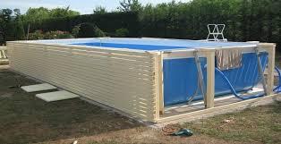 rivestimento in legno per piscine fuori terra piscina fai da te come realizzare una piscina nel proprio
