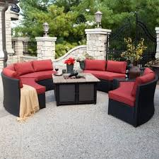 Red Patio Set by Best 25 Wicker Patio Furniture Ideas On Pinterest Grey Basement