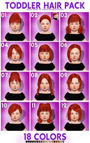 girls u0027 hair sims 4 nexus