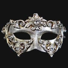 silver masks colombina barocco silver masquerade mask vivo masks