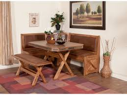 sedona breakfast nook set varyhomedesign com