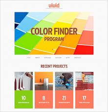 12 painting company wordpress templates u0026 themes free u0026 premium