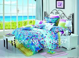 Purple Floral Comforter Set 500 Thread Count Purple Floral Printed Aqua Color Queen Full