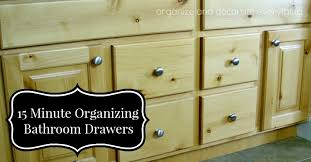 Organizing Bathroom Drawers 31 Days Of 15 Minute Organizing Day 7 Bathroom Drawers