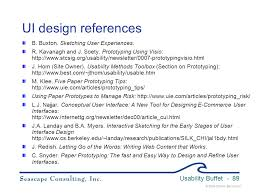 usability buffet by karen bachmann seascape consulting inc ppt