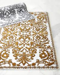 Gold Rugs Contemporary Black And Gold Bathroom Rugs Cievi U2013 Home