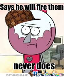 Funny Regular Show Memes - regular show by childish creator meme center