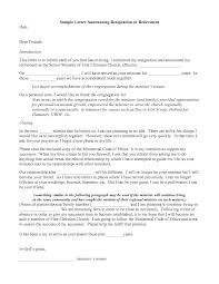 Employee Announcement Template Resignation Letter Format Sample Announcing Letters Of