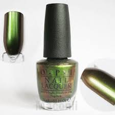 opi green on the runway c18 coca cola coke green red brown