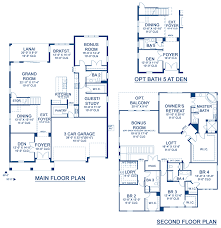 20 By 50 Home Design Granada Ii A New Home Floor Plan At Waterset Lake By Homes By Westbay