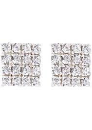 honey singh earrings buy yo yo honey singh inspired big square silver stud earrings for