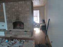 a stone fireplace makeover using cultured stone rick minnings