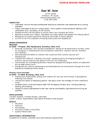 Example Of Resume For College Students With No Experience Lovable Lvn Resumes Resume Cv Cover Letter Free Templates Sample