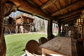 aspen vacation rental cabin w 8 acres of secluded woods