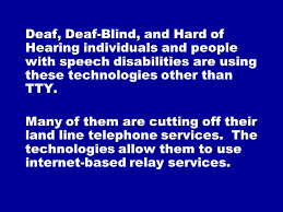 Blind Cutting Service Telecommunication Relay Service Trs Emergency Call Handling
