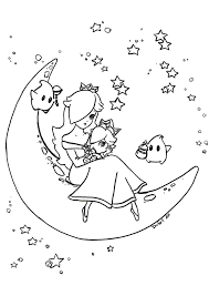 download princess rosalina coloring pages ziho coloring