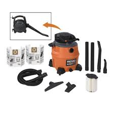 Wet Vacs At Lowes by Ridgid Wet U0026 Dry Vacuums Vacuum Cleaners U0026 Floor Care The