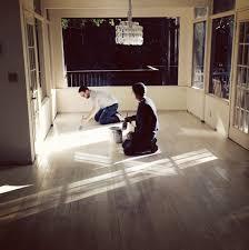 the treehouse whitewashed floors design