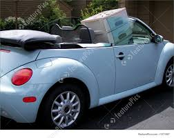 punch buggy car picture of blue bug
