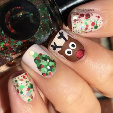 christmas nail art and christmas nail art design piggieluv secret