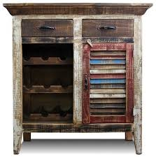 Reclaimed Wood Bar Cabinet Most Popular Style Wine And Bar Cabinets For 2018 Houzz