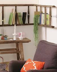 Wooden Ladder Bookshelf Plans by Diy Ladder Shelf Ideas Easy Ways To Reuse An Old Ladder At Home
