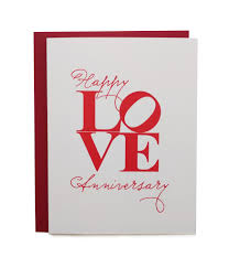 anniversary card happy anniversary card paper on pine