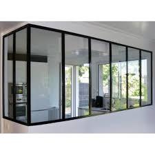 cuisine verriere atelier verrière atelier cloison vitrée de séparation cuisine et pièce de