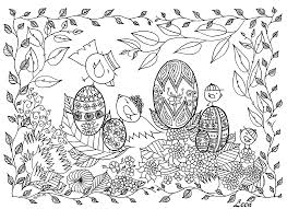 easter egg hunt coloring pages kids alric coloring pages