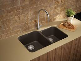 Blanco Kitchen Faucet Parts by Blanco 446009 Cafe Brown Meridian Double Basin Undermount