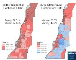 2016 Presidential Election Map Presidential Results By Florida State House District U2013 Mci Maps