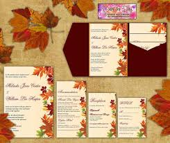 fall wedding invitations fall themed wedding invitations fall themed wedding invitations