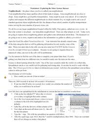 solar system worksheets pdf pics about space