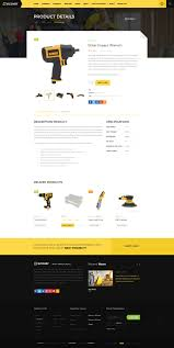 recover construction u0026 building psd template by themefire